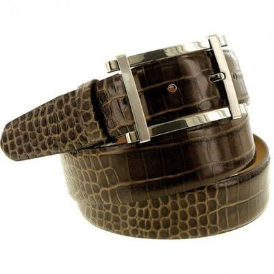 47fb0c8f380f ceinture cuir croco ceinture cuir croco EMPORIO BALZANI