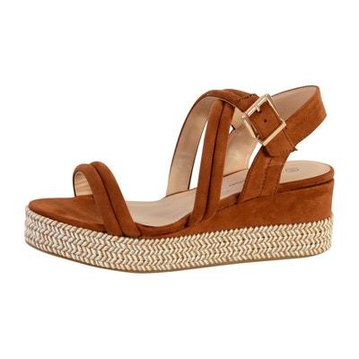 0500bdc932f Sandale Compensée Femme Sandale Compensée Femme THE DIVINE FACTORY