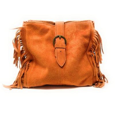 1ce7b24543b07d Sac cuir orange | La Redoute