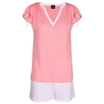 Pyjama short 100% coton MILY 400 LE CHAT d991f5c5a25