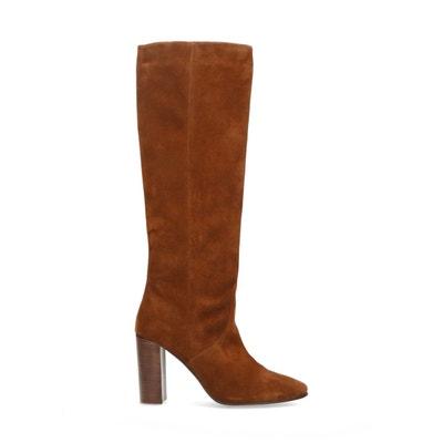 Bottes hautes marron femme | La Redoute