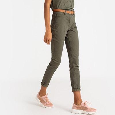 Redoute La Pantalon Slim Slim Vert Pantalon qIB0xXB