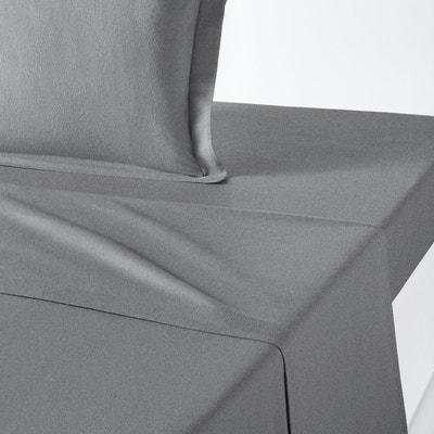 drap plat flanelle la redoute. Black Bedroom Furniture Sets. Home Design Ideas