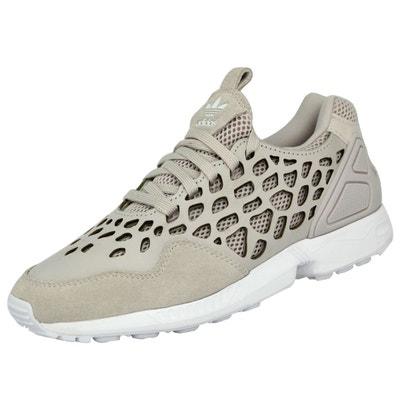 finest selection 15e93 a15b7 Adidas Originals ZX FLUX LACE Chaussures Mode Sneakers Femme Beige Adidas  Originals ZX FLUX LACE Chaussures