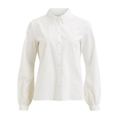 Рубашка с вышивкой, длинные рукава Рубашка с вышивкой, длинные рукава VILA