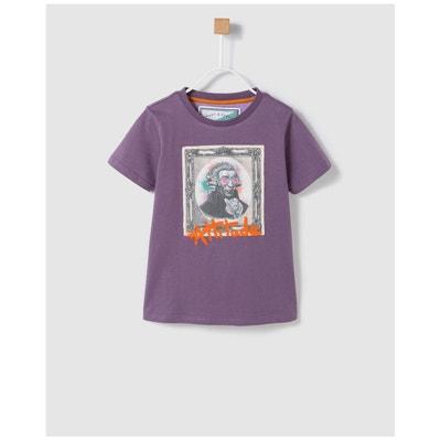 596aef62d15ff Tshirt violet avec patch Tshirt violet avec patch BASS 10