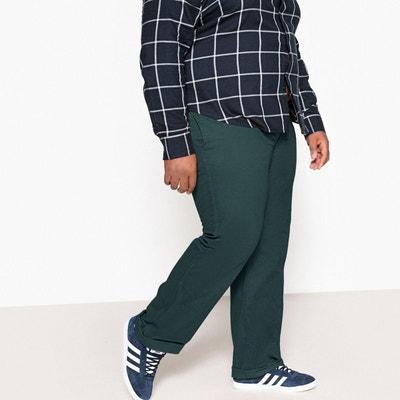 a9a36b9e28e2 Pantalon droit taille élastiquée Pantalon droit taille élastiquée CASTALUNA  FOR MEN