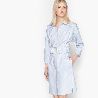 7a3c28b8b5b Robe chemise avec ceinture élastiquée Robe chemise avec ceinture élastiquée  LA REDOUTE COLLECTIONS