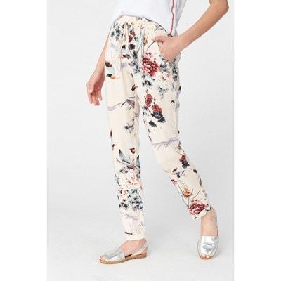 e5a46319d6ed Pantalon à pinces imprimé BEST MOUNTAIN