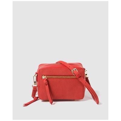 84477d1b02 Petit sac à bandoulière avec détails en daim Petit sac à bandoulière avec  détails en daim. EL CORTE INGLES