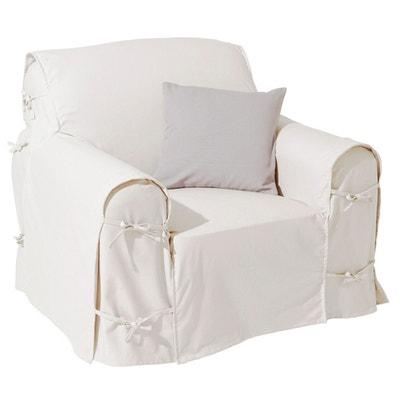 Cotton Canvas Armchair Cover Cotton Canvas Armchair Cover LA REDOUTE  INTERIEURS 2b8e38538e