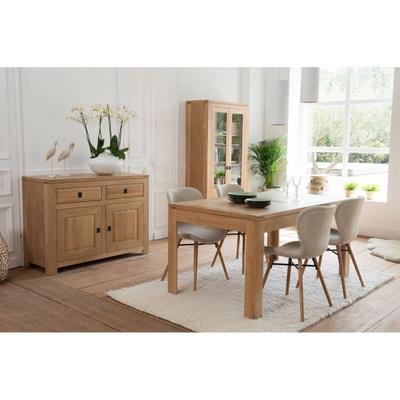 Table rectangulaire extensible BOSTON 160 cm en chêne clair Table  rectangulaire extensible BOSTON 160 cm en. HELLIN ... a9c3ee3154bc