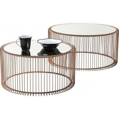 Table Basse Cuivre La Redoute