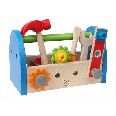 Boite à outils pour enfant - Jouet Hape Boite à outils pour enfant - Jouet Hape HAPE