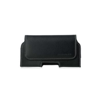 Etui ceinture pour iPhone 6S en cuir véritable, hroizontal AMAHOUSSE 8733e16d4db