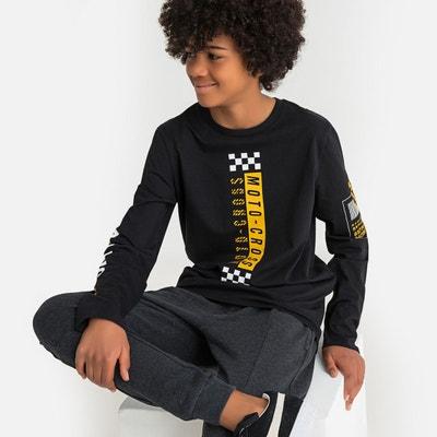 065a8f343 T shirt manche longue ado 16 ans | La Redoute