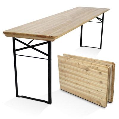 Luxe Table De Bistrot 60x60cm Verre//Métal Noir Table de Balcon Table En Verre Table De Jardin