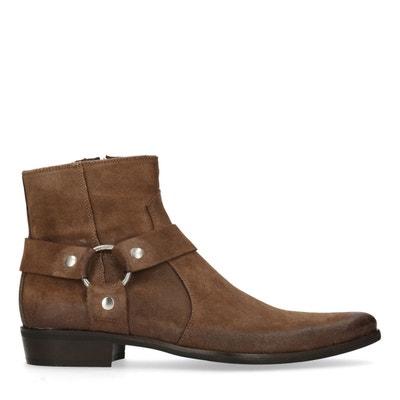 ca14302c79a Boots en cuir basses SACHA