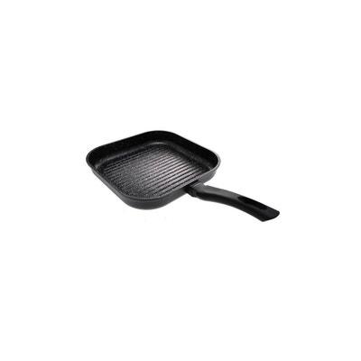 Dimensions: Longueur env. 36/cm x largeur 24/cm + rev/êtement marbre Po/êles induction Po/êle grill Plaque grill Po/êle /à steak Po/êle /à frire rectangulaire en fonte daluminium