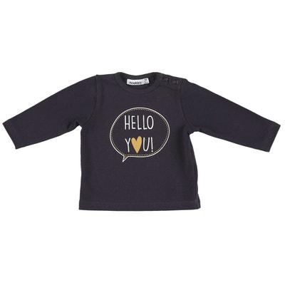 Bio Manches La Solde Coton En Redoute Shirt Longues Tee wIUq5vT