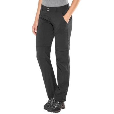 497553b7df92 Saturday Trail II Convertible - Pantalon Femme - regular noir COLUMBIA