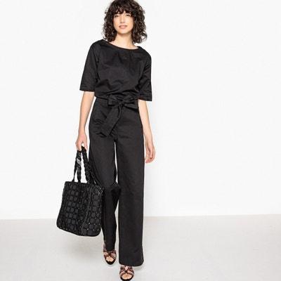 Комбинезон с брюками широкого покроя Комбинезон с брюками широкого покроя  LA REDOUTE COLLECTIONS 97d57183fcf5b