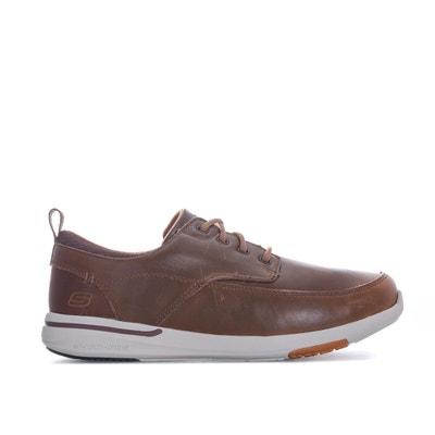 2ef02ea57e93 Chaussures de ville en cuir SKECHERS