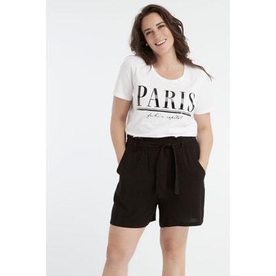 Pantacourt, short femme grande taille Castaluna MS MODE