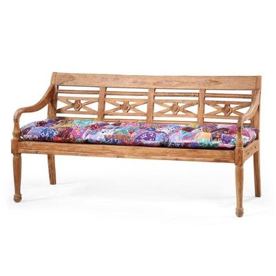 banc en teck la redoute. Black Bedroom Furniture Sets. Home Design Ideas