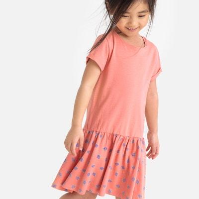ec3264d2ab Short-Sleeved Flared Dress