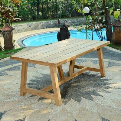 Table de jardin TECK ATTITUDE | La Redoute