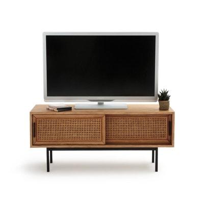 Meuble TV - Meuble TV design, blanc, d\'angle en solde | La Redoute