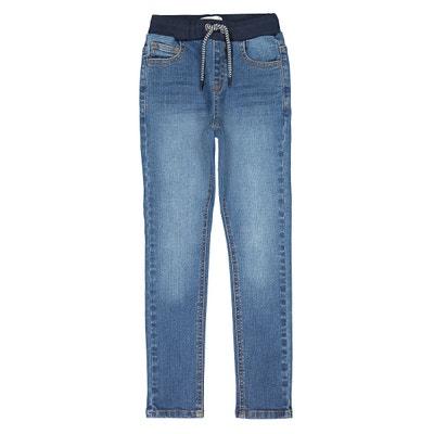 Slim jeans met elastische tailleband Slim jeans met elastische tailleband LA REDOUTE COLLECTIONS
