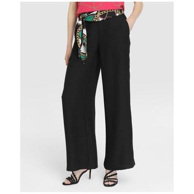 220505d1c21 Pantalon habillé noué à la taille   ELOGY