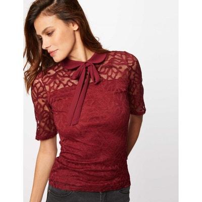d4fe3f00f42 Tee shirt manche courte femme MORGAN