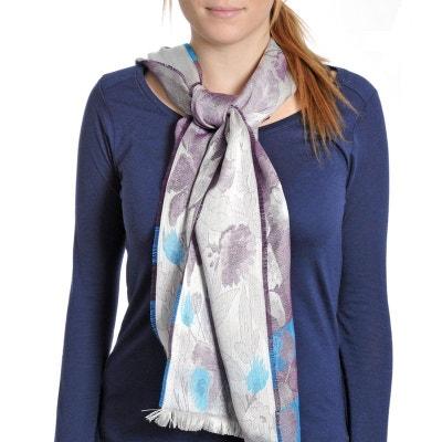 Echarpe légère Sigonce Violet - Fabriqué en France QUALICOQ 0a961f954ab
