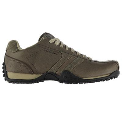fc07fd4e19a Chaussures décontractées en cuir à lacets Chaussures décontractées en cuir  à lacets SKECHERS