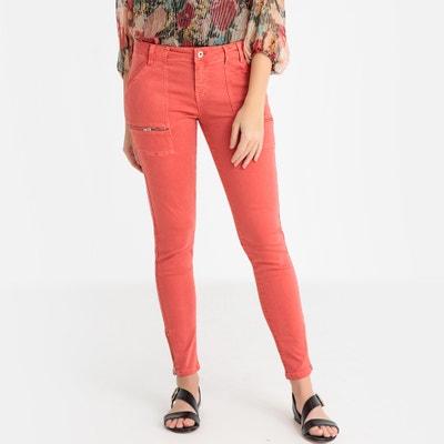 Slim jeans 7/8, rits aan de enkels Slim jeans 7/8, rits aan de enkels IKKS