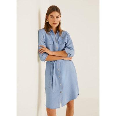 3c47cbf3048b9 Robe soft style denim MANGO