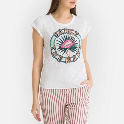 8d4c257d87 Tee shirt col rond à motif appliqué TOVA Tee shirt col rond à motif  appliqué TOVA