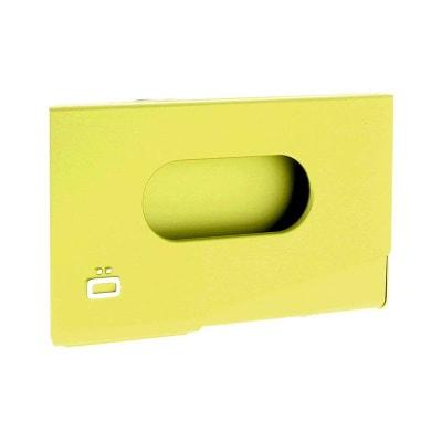 Porte Carte De Visite Alu Vert Lime Ogon Design One Touch Made