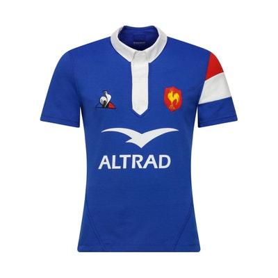 Vêtements Le Coq Sportif Maillot Rugby France Domicile 2018/19