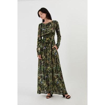 461822bca01 Robe longue en soie MARTHE JARDIN DEFENDU Robe longue en soie MARTHE JARDIN  DEFENDU FETE IMPERIALE