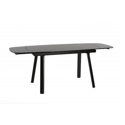 Table en verre noir | La Redoute