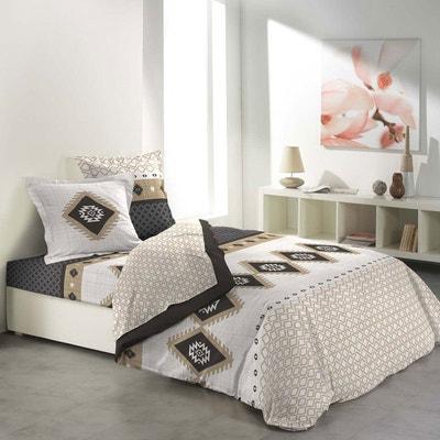 parure drap plat la redoute. Black Bedroom Furniture Sets. Home Design Ideas