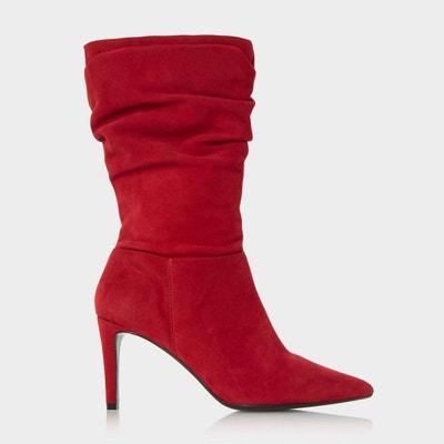courir chaussures dans quelques jours conception adroite Bottes rouges femme   La Redoute