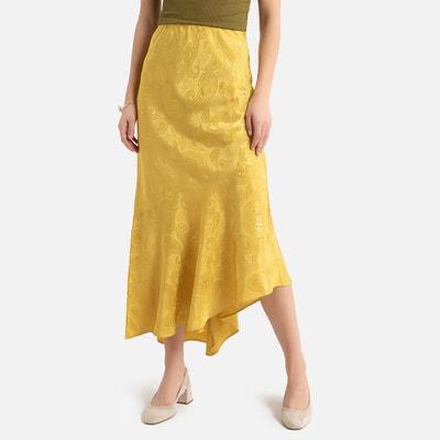 Asymmetric Ruffled Maxi Skirt Asymmetric Ruffled Maxi Skirt LA REDOUTE COLLECTIONS