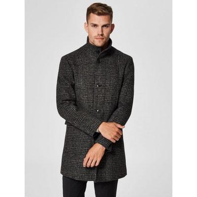 Manteau laine homme en solde   La Redoute bcb987c7fbae