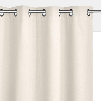 rideau lin beige naturel la redoute. Black Bedroom Furniture Sets. Home Design Ideas