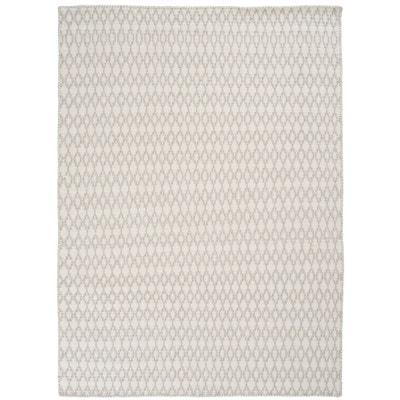 tapis laine blanc la redoute. Black Bedroom Furniture Sets. Home Design Ideas